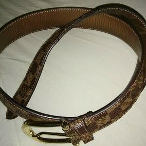Mens Louis Vuitton Belt